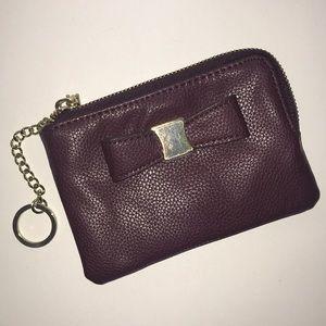 Handbags - Plum Color Wrislet/wallet